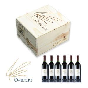 オーパス・ワンのセカンド オーバーチュア 6本セット(木箱入り) (カリフォルニア 赤ワイン)...
