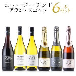 勝田商店おすすめ アラン・スコット 6本セット (ニュージーランド ワインセット)