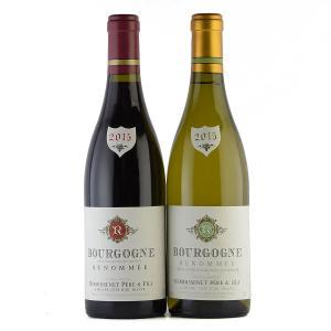 【送料無料】ルモワスネ・ペール・エ・フィス ブルゴーニュ赤白ワイン2本セット