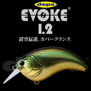 デプス Deps EVOKE1.2/イヴォーク1.2 #12ゴールデンシャイナー|katsukinet