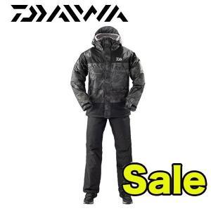 防寒着 レインマックス ウィンタースーツ  DW-35009 ブラックカモ ダイワ