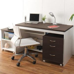 パソコンデスク ロングデスク  PC ハイタイプデスク 机 幅120cm 奥行60cm    代引き不可 送料無料 katsuyanetcompany