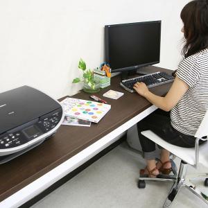 薄型 パソコンデスク ロングデスク  PC ハイタイプデスク 机 幅180cm 奥行45cm   代引き不可 送料無料 katsuyanetcompany