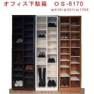 【送料無料】オープンタイプ オフィス下駄箱/オフィスシューズボックス幅52cm 完成品 店舗向け下駄箱 |katsuyanetcompany