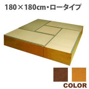 【送料無料】いぐさの収納庫!畳収納庫セットA・180×180cm・ロータイプ|katsuyanetcompany