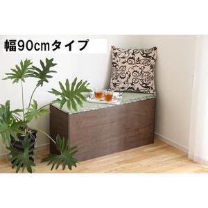 【送料無料】畳収納庫ベンチ 幅90cmタイプ|katsuyanetcompany