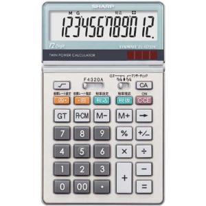 シャープ 電卓 中型 実務タイプ EL−N732K|kaumall