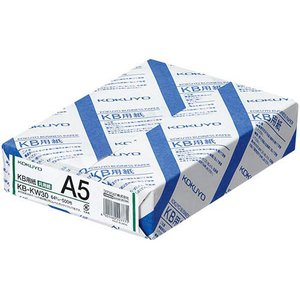コクヨ KB用紙(共用紙) A5 1冊(500枚)の関連商品6