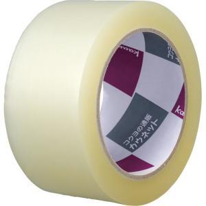 カウネット 透明PPテープ 重梱包用 5巻パック|kaumall