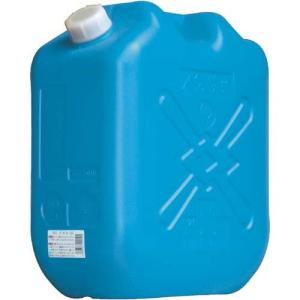土井金属化成 灯油缶 18L ブルー|kaumall