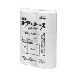 春日製紙工業 コア・ユース 170m 6個入×4 kaumall