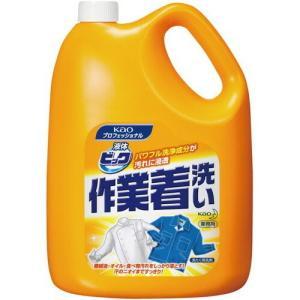 花王 液体ビック作業着洗い 4.5kg kaumall