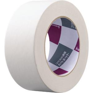 「カウコレ」プレミアム クラフトテープ 重ね貼り可 白 1巻|kaumall
