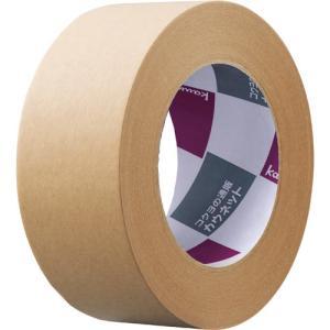 「カウコレ」プレミアム クラフトテープ 重ね貼り可 茶 50巻|kaumall