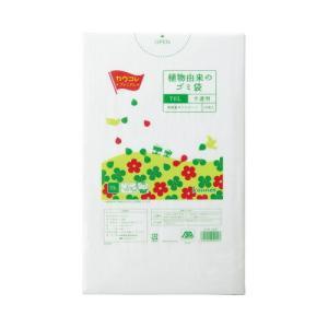 「カウコレ」プレミアム 植物由来の高密度ゴミ袋 70L 30枚×10 kaumall