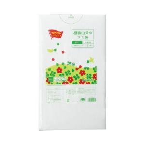 「カウコレ」プレミアム 植物由来の高密度ゴミ袋 90L 30枚×10 kaumall