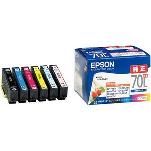 エプソン 純正インク IC6CL70L 6色増...の関連商品1