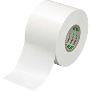 オカモト ビニールテープ 白 50mm×20m 10巻|kaumall