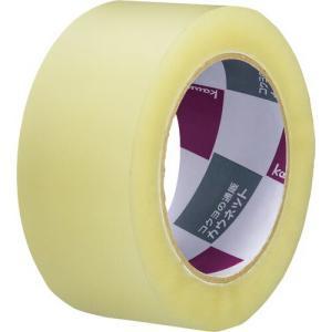 「カウコレ」プレミアム 手で切れる透明PPテープ 長巻100m 50巻|kaumall