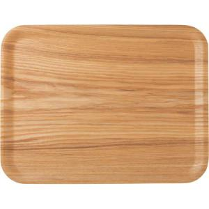 アサヒ興洋 ノンスリップ木製トレー ナチュラル L kaumall