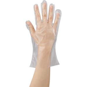 川西工業 ポリエチレン手袋 カタエンボス M 100枚×20 kaumall