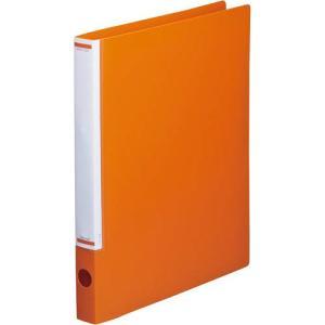 「カウコレ」プレミアム マニュアルリングファイル背幅32mmA4縦橙 kaumall