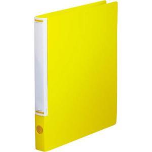 「カウコレ」プレミアム マニュアルリングファイル背幅32mmA4縦薄黄 kaumall