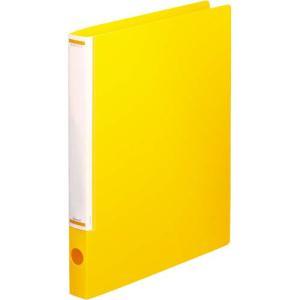 「カウコレ」プレミアム マニュアルリングファイル背幅32mmA4縦黄 kaumall