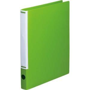 「カウコレ」プレミアム マニュアルリングファイル背幅32mmA4縦黄緑 kaumall