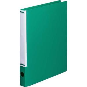 「カウコレ」プレミアム マニュアルリングファイル背幅32mmA4縦緑 kaumall