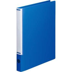 「カウコレ」プレミアム マニュアルリングファイル背幅32mmA4縦青 kaumall