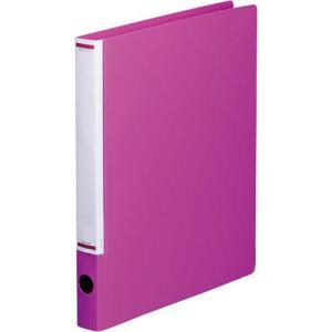 「カウコレ」プレミアム マニュアルリングファイル背幅32mmA4縦赤紫 kaumall
