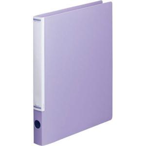 「カウコレ」プレミアム マニュアルリングファイル背幅32mmA4縦紫 kaumall