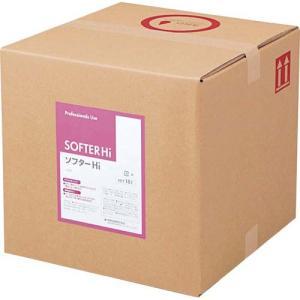 熊野油脂 業務用柔軟剤 ソフターHi 18L|kaumall