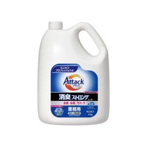 花王 アタック 消臭ストロングジェル 業務用 4kg|kaumall