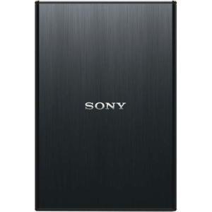 ソニー ポータブルHDD Sシリーズ 500GB 黒×2