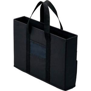 「カウコレ」プレミアム ミーティングバッグ 黒 スリム 1個|kaumall