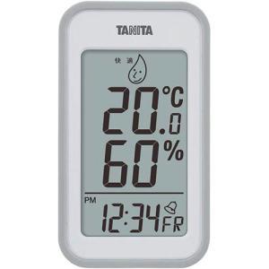 タニタ デジタル温湿度計 大 アラーム付_Yten|kaumall