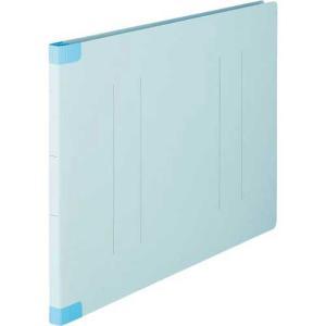 「カウコレ」プレミアム フラットファイル背補強タイプ A3横 青 10冊|kaumall