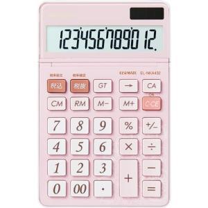 シャープ シンプルで使いやすい電卓 EL−NKA432|kaumall