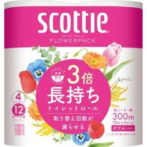 日本製紙クレシア スコッティフラワーパック W...の関連商品2