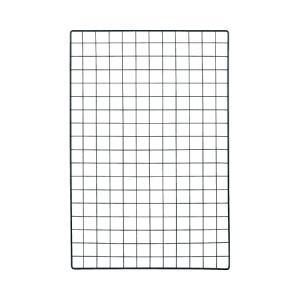 ヒカリ メッシュパネル 黒 900×600