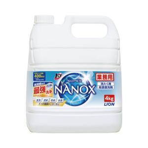 ライオンハイジーン トップ スーパーNANOX 業務用 4kg_Yfiv|kaumall