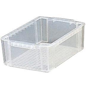 アイリスオーヤマ BOXコンテナ 中 浅型 クリア 5個|kaumall