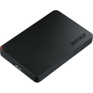 バッファロー ポータブルHDD HD−PCFU3−E 500GB