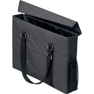 「カウコレ」プレミアム 外出にも使えるミーティングバッグ スリム 黒×黒|kaumall