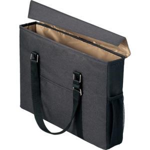 「カウコレ」プレミアム 外出に使えるミーティングバッグ スリム 黒×薄茶|kaumall