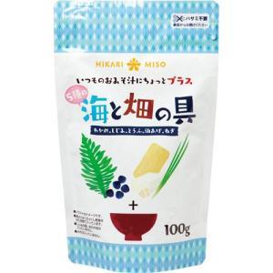 ひかり味噌 海と畑の具100g