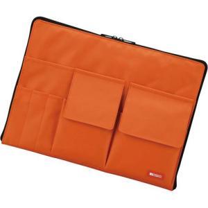 リヒトラブ バッグインバッグ A4 オレンジ|kaumall