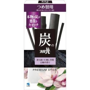 小林製薬 炭の消臭元 つめ替用 白檀の香り×4